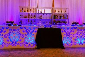 custom bar for special event