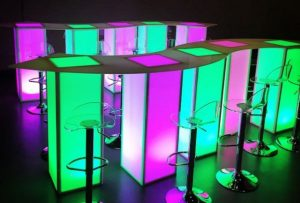 LED serpentine bar