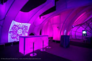 LED furniture for event
