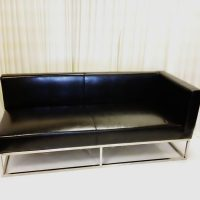 black-leather-left-arm-bench