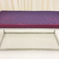silver-frame-purple-fabric-ottoman