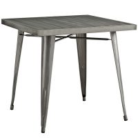 INDUSTRIAL CAFE TABLE ( 32 W X 32 D X 29.5H)