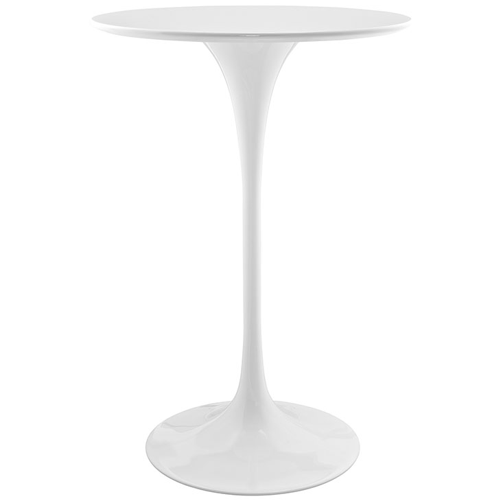 WHITE BAR TABLE RENTAL TRADESHOW