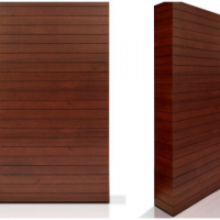 faux wood wall panel rental