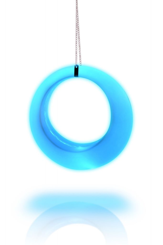 led swing blue