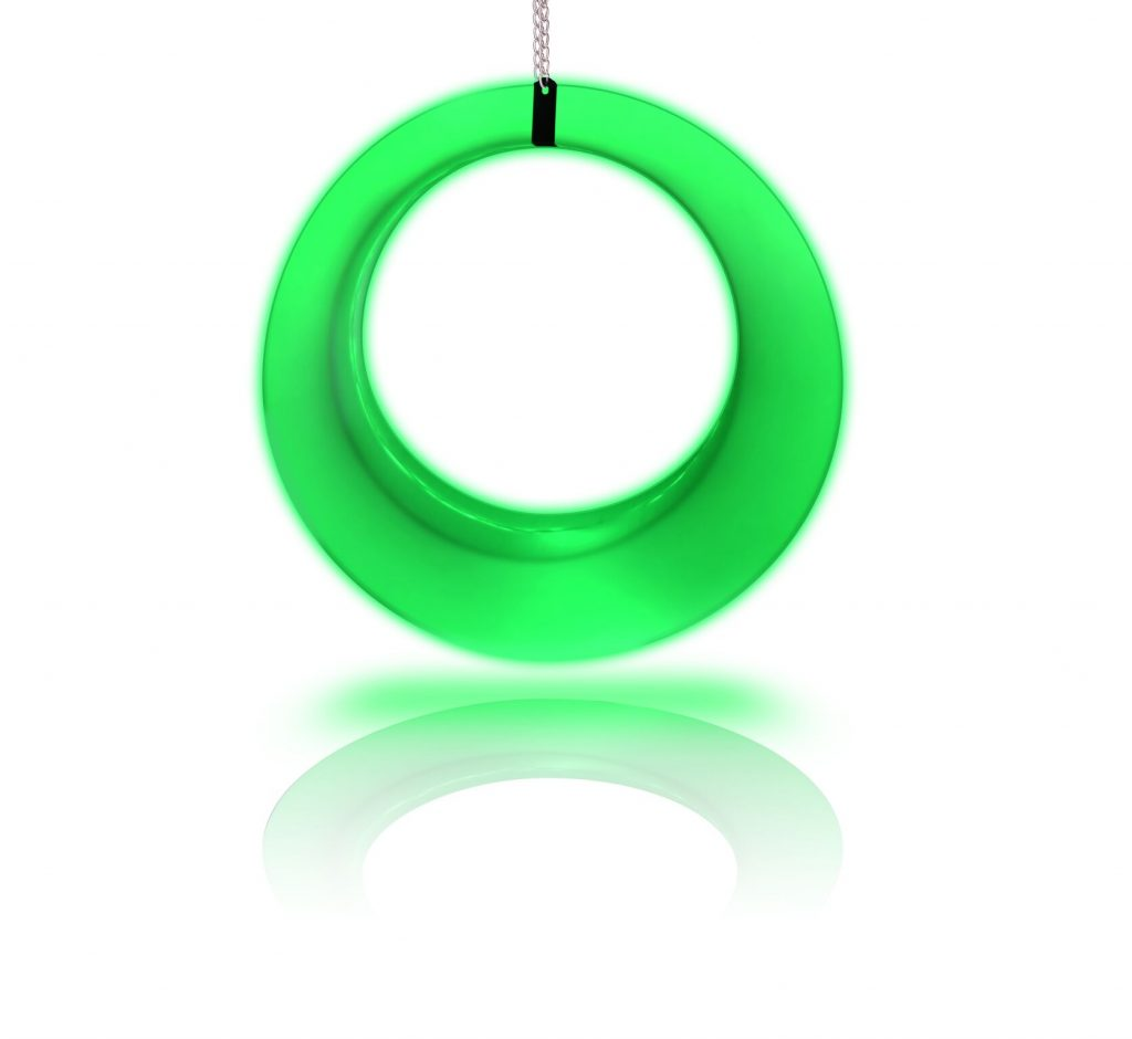 green led swing