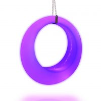 purple led swing