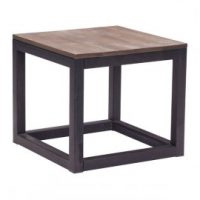 wood side table rental