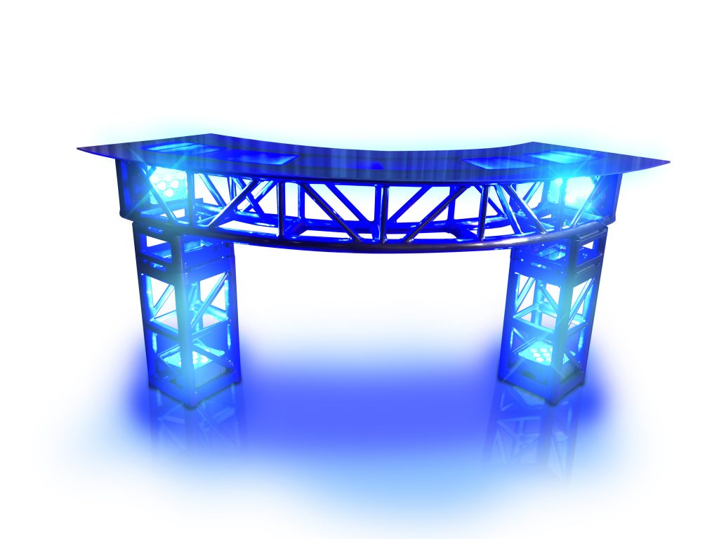 LED curved truss bar
