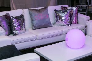 lounge furniture for bat mitzvah