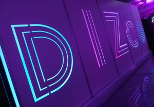 LED wall panels for mitzvah