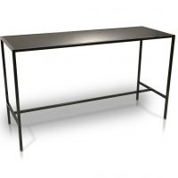 black bar table rental