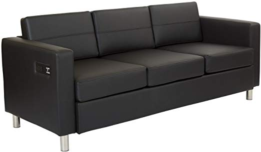 Power up Black Sofa
